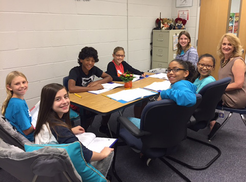 students planning bullying awareness events