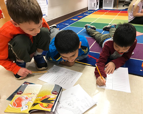 Image result for second graders collaborate