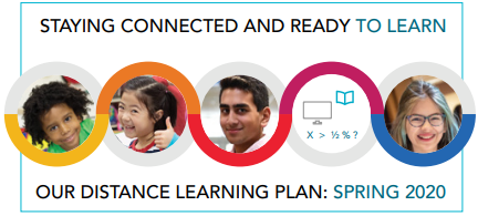 image of spring/summer 2020 distance learning plan