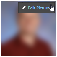 screenshot for how to update your profile picture in Schoology