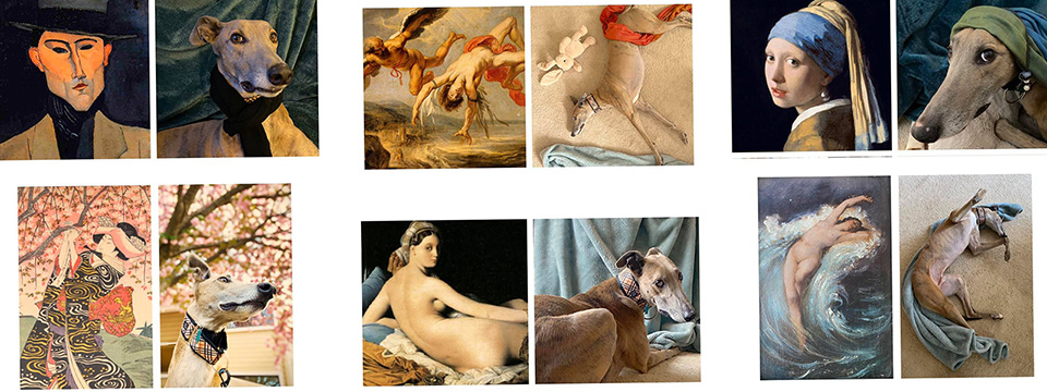 photos of master works and greyhound works