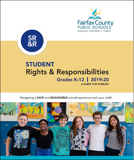 SR&R Cover includes six students smiling while standing in front of blue lockers