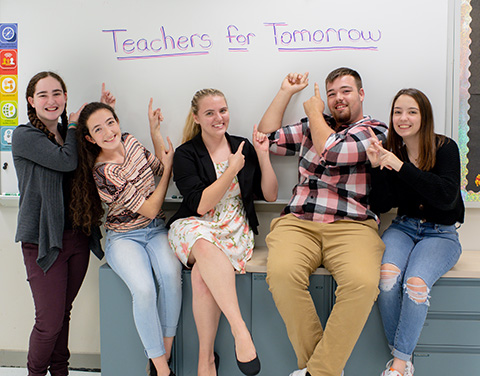 teachers for tomorrow students