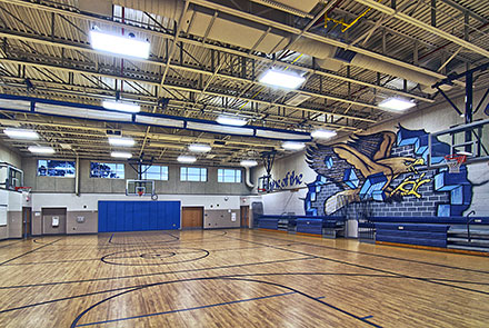 Thoreau Middle School Gymnasium