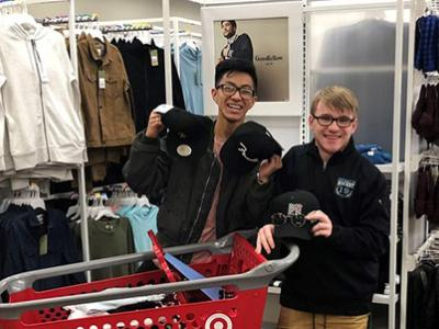Fashion Marketing students from Fairfax High got help from a local Target store as they planned a fashion promotion event.