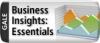 logo for Business Insights Essentials by Gale with mountain peaks in the background