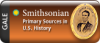Logo for Smithsonian Primary Sources in U.S. History